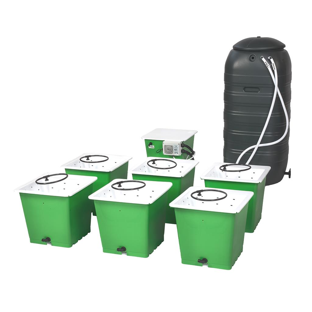 GREEN MAN 16 Combi System - 16 Pot