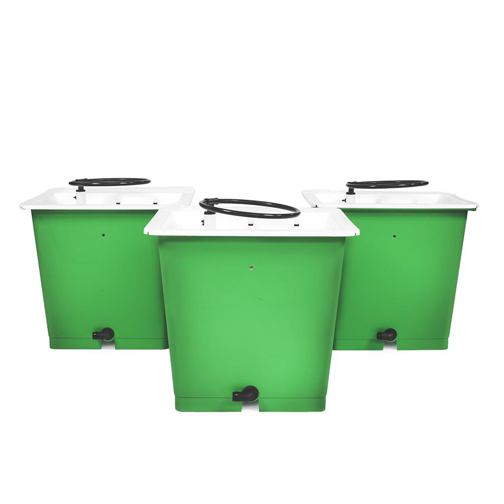 GREEN MAN Combi Kit 3 Pot Package