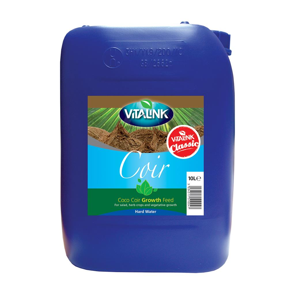 VitaLink Coir Classic Growth Hard Water 10L