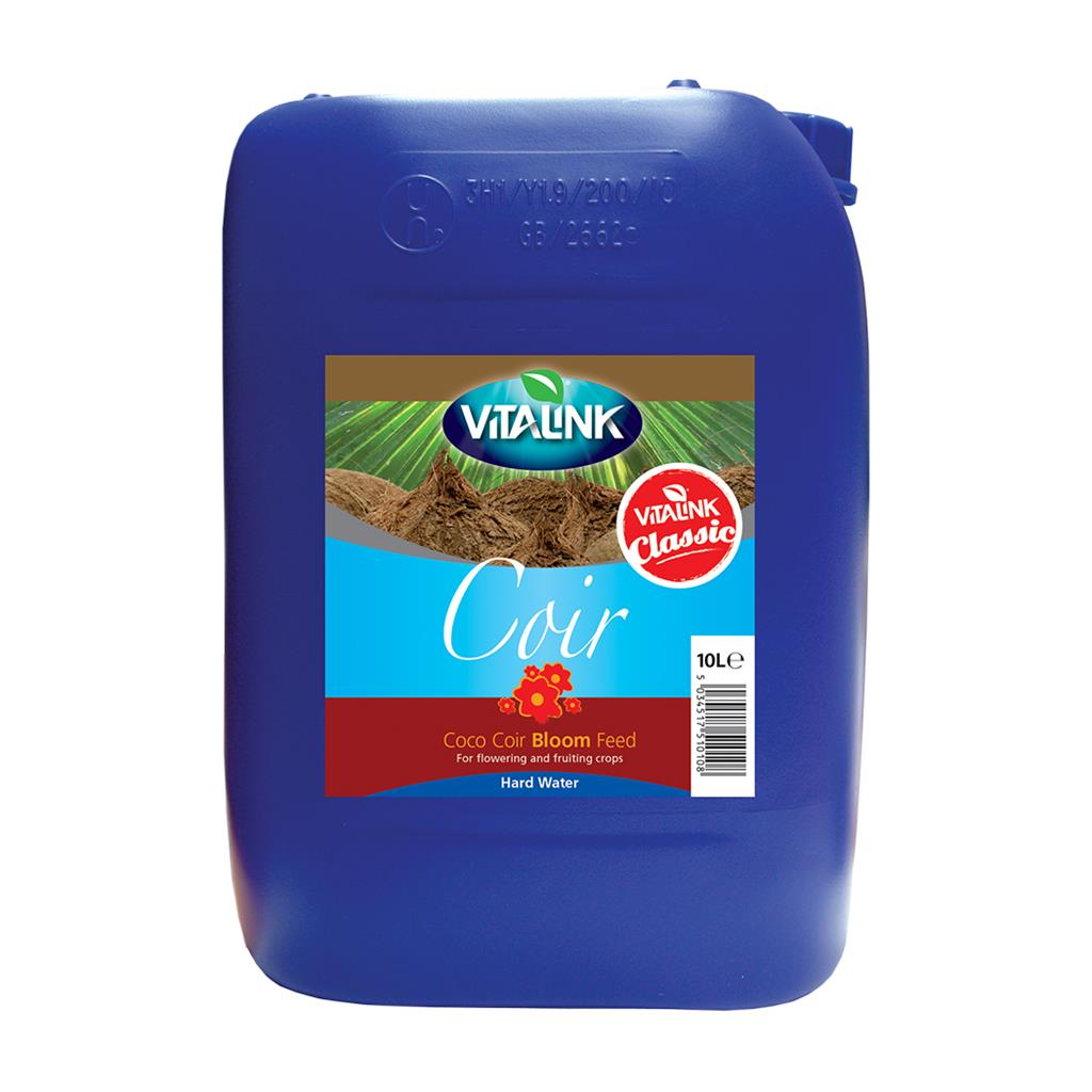 VitaLink Coir Classic Bloom Hard Water 10L