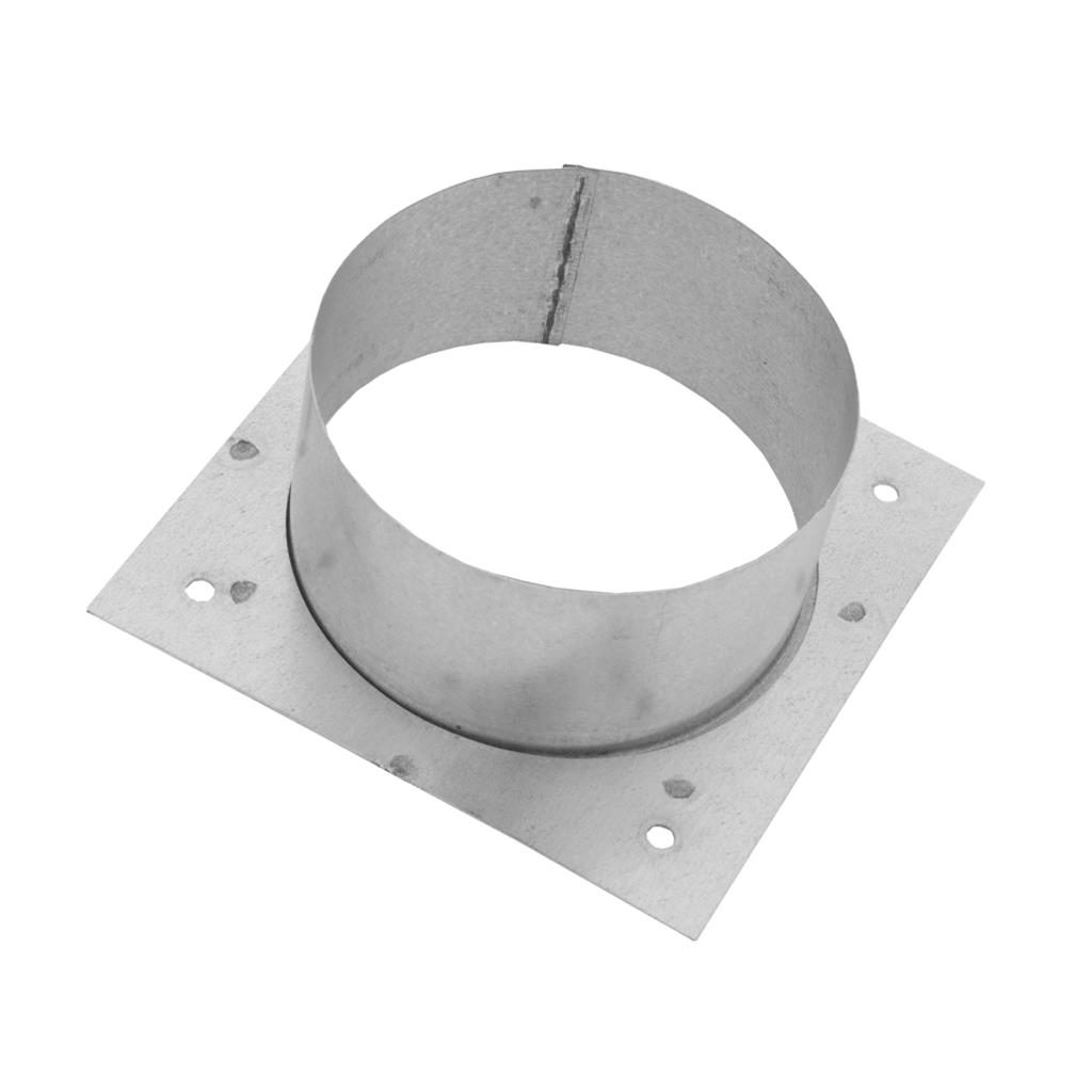 Square Backed Flange - 100mm