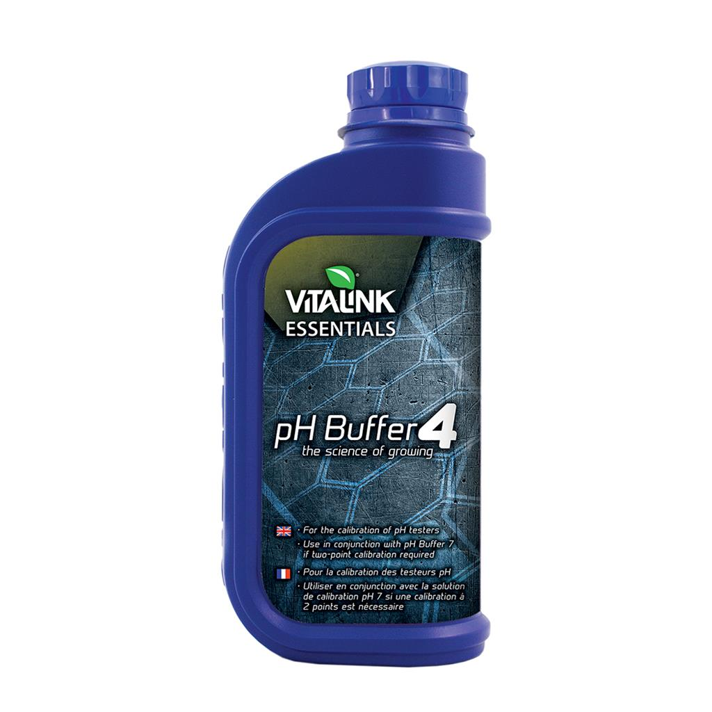 VitaLink Essentials pH Buffer 4 - 1L
