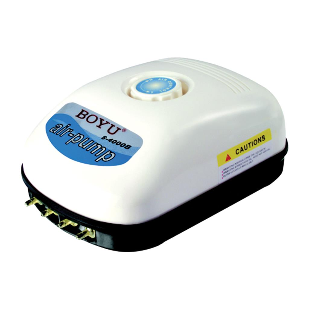 BOYU Adjustable Air Pump S-4000B - 768L/hr