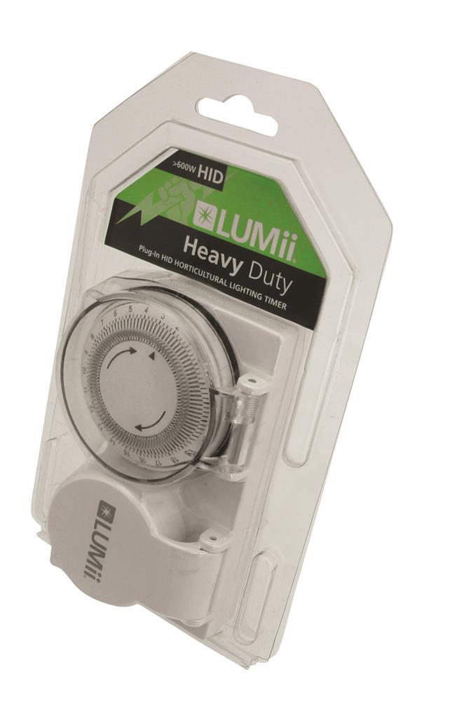 LUMii 24 Hour Heavy Duty Timer - Box of 5