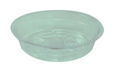"Round 157mm (6"") Clear Saucer"