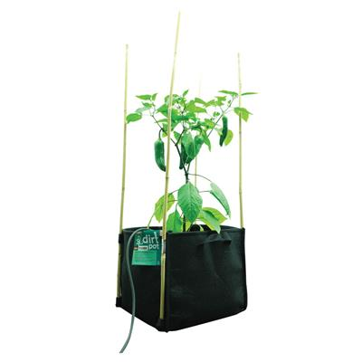 PLANT!T Square Base DirtPot 11L - Pack of 10