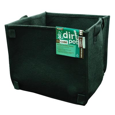 PLANT!T Square Base DirtPot 37L - Pack of 5