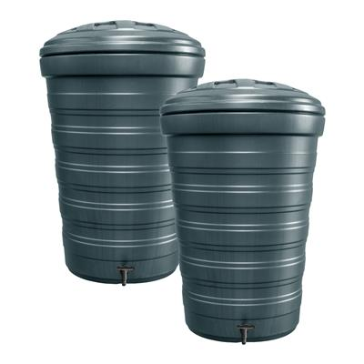 200L Stackable Water Butts - Set of 2