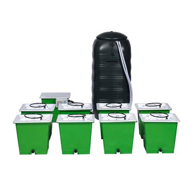 GREEN MAN 8 Combi (FLEX) System - 8 Pot