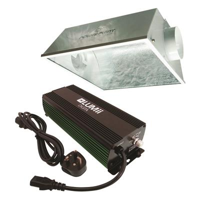 LUMii DIGITA 1000w con reflector AeroWing -
