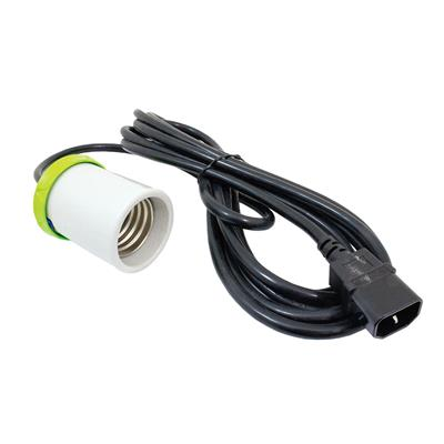 LUMii Heavy Duty Cord Set Casquillo + Cable IEC 4m