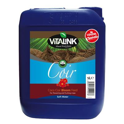 VitaLink Coir Classic Bloom Soft Water 5L
