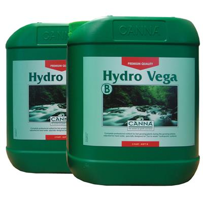 CANNA Hydro Vega Soft Water 5L Set (A+B)