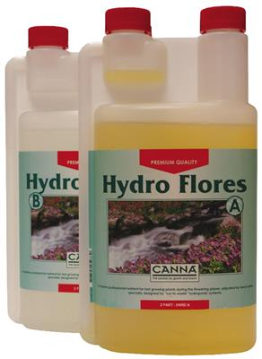 CANNA Hydro Flores Hard Water 1L Set (A+B)
