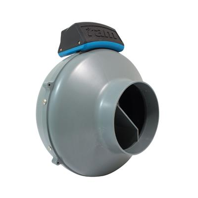 RAM Inline Duct Fan - 125mm with UK Lead