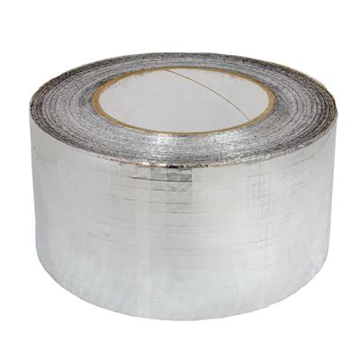 Silver Foil Scrim Weave Tape - 72mm x 45m