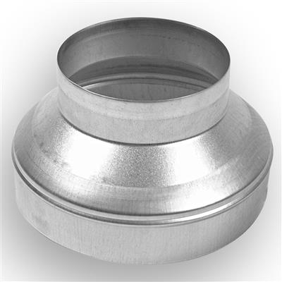 Pressed Ventilation Reducer - 125mm>100mm