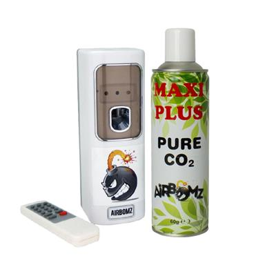 Airbomz CO₂ Dispenser - Maxi Can Included