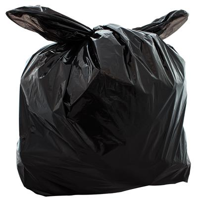 Black Polythene Bags (455mm x 735mm x 860mm)