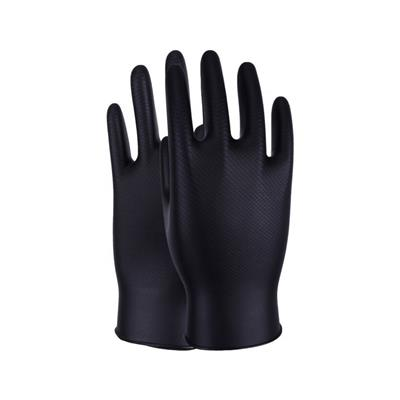 Maxim Black Nitrile Gloves - Box of 50 - Large