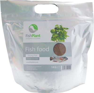 FishPlant Tilapia (Young Fish) Fish Food - 1kg